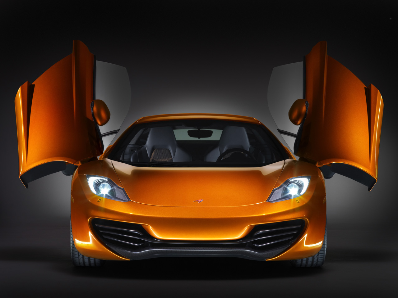 McLaren Sport Car, спортивная машина, фото, вид спереди