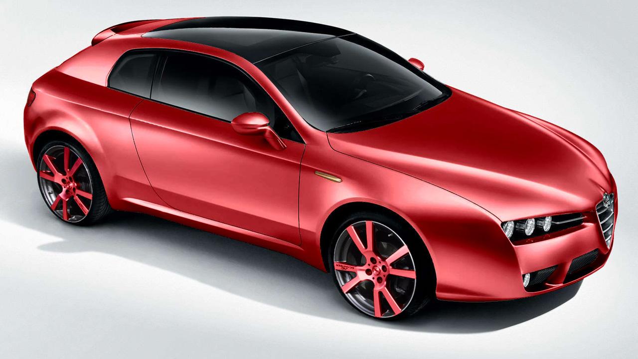 Alfa Romeo Brera Concept Car, скачать фото, спортивная машина