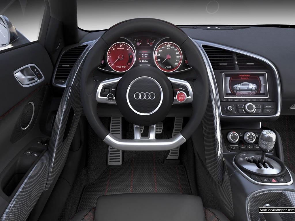 Салон машины Audi
