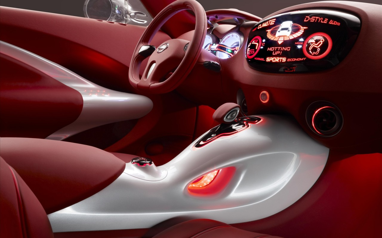 Салон Nissan Concept Car, фото, скачать в высоком разрешении