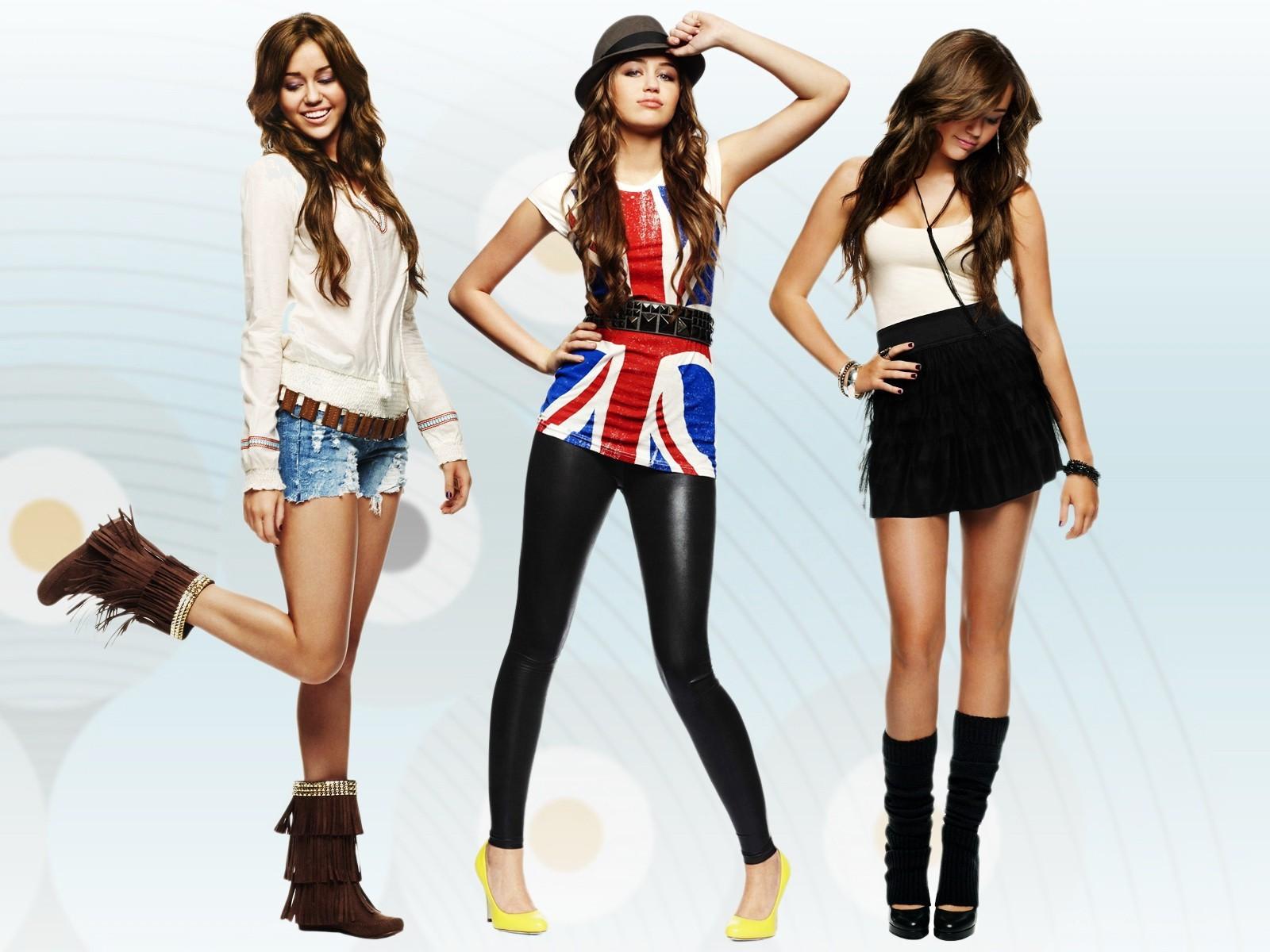 Красиво и модно одетые девушки