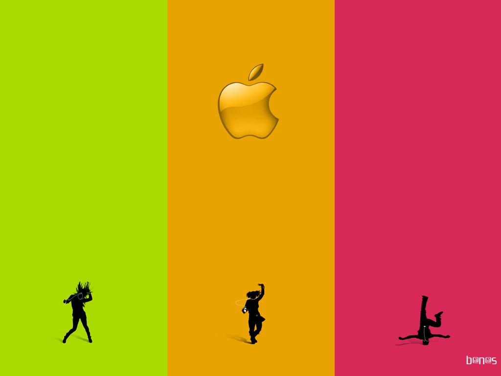 Обои apple, яблоко