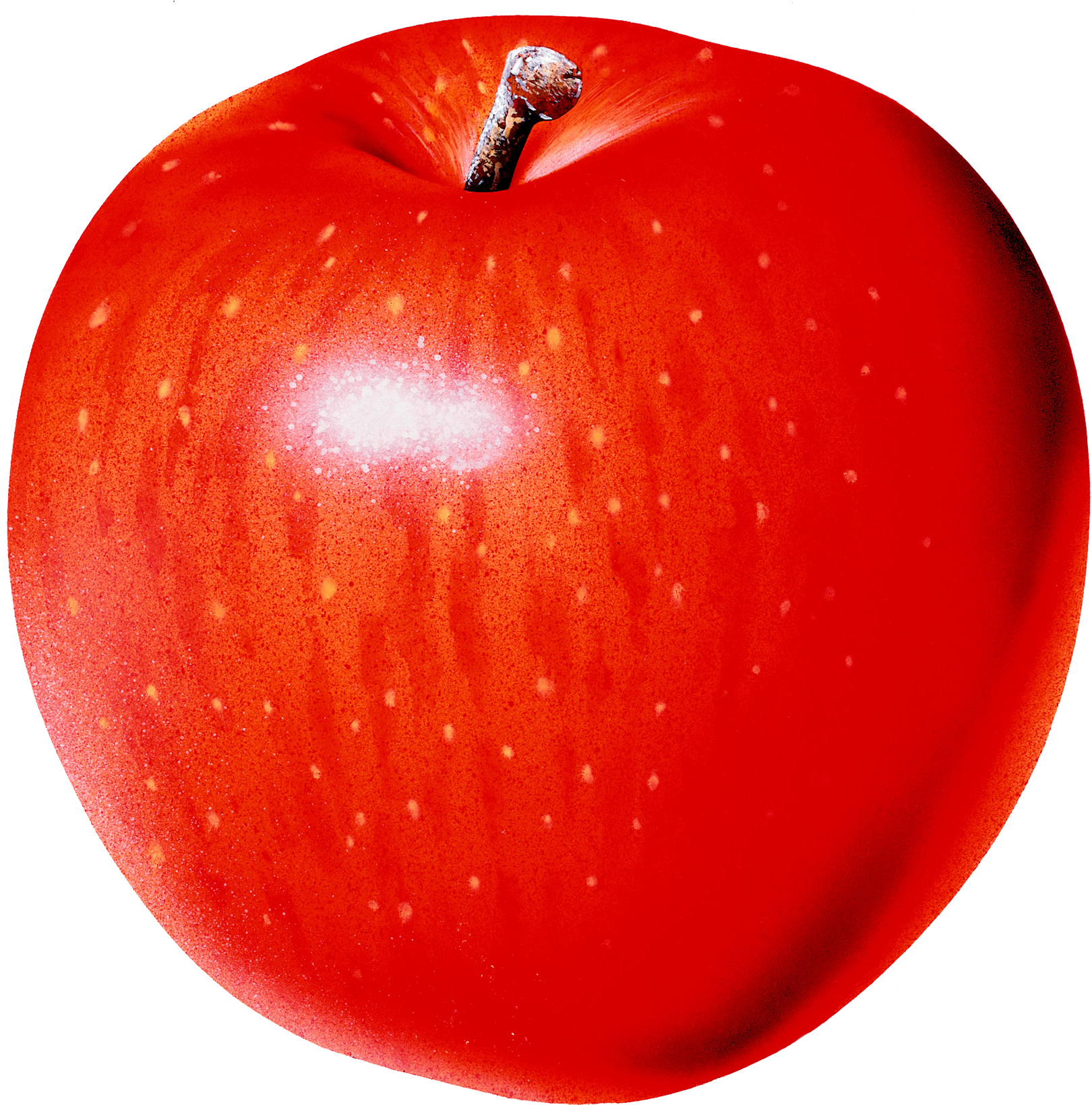 Красное яблоко, обои для рабочего стола