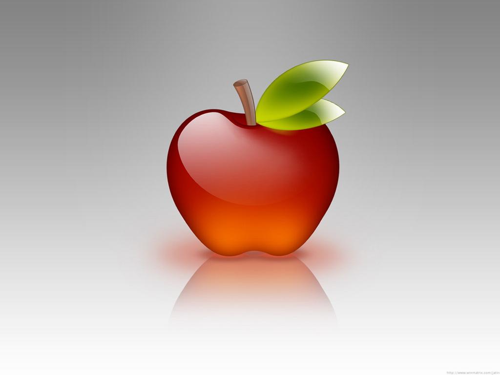 apple, обои для рабочего стола