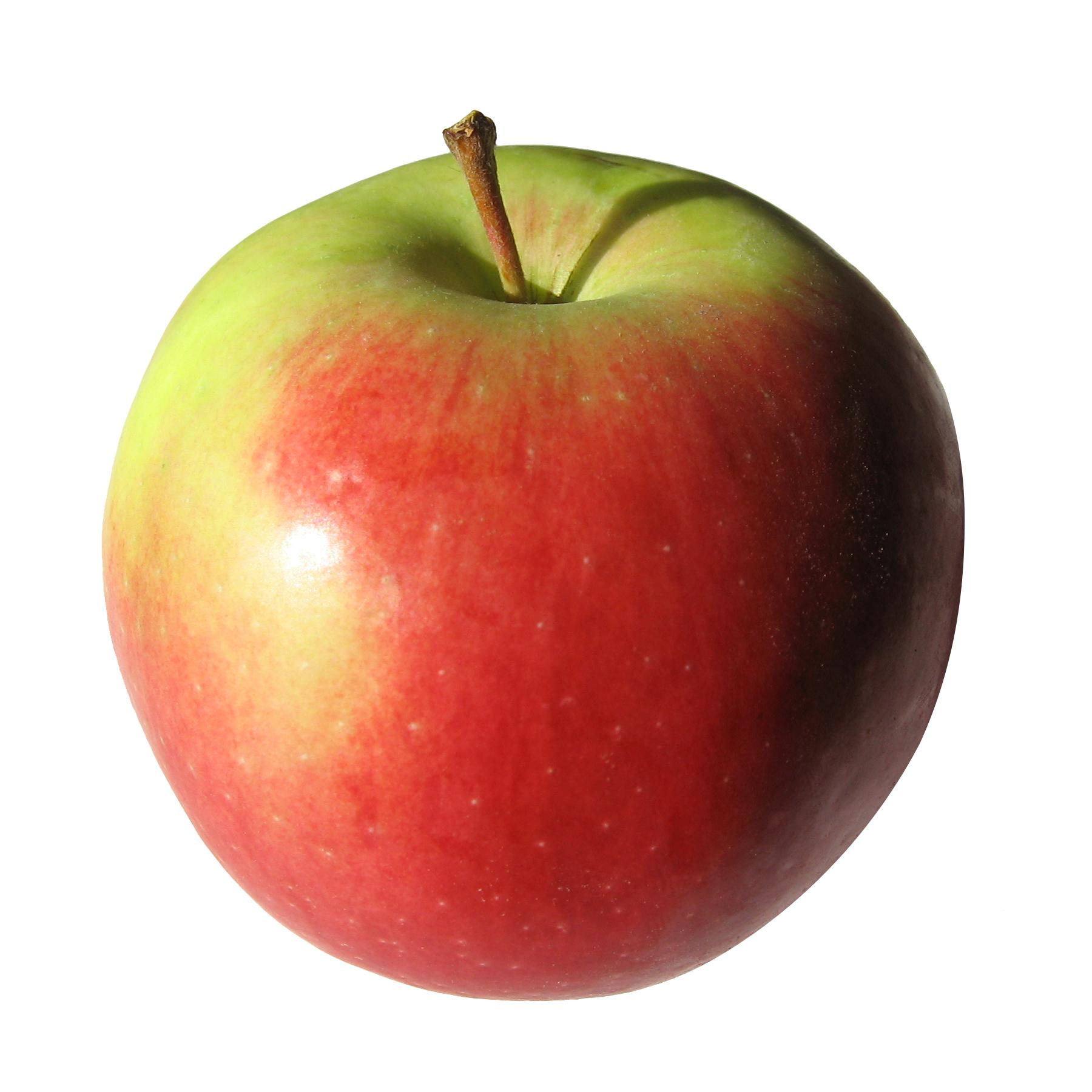 Спелое яблоко, фото, крупно