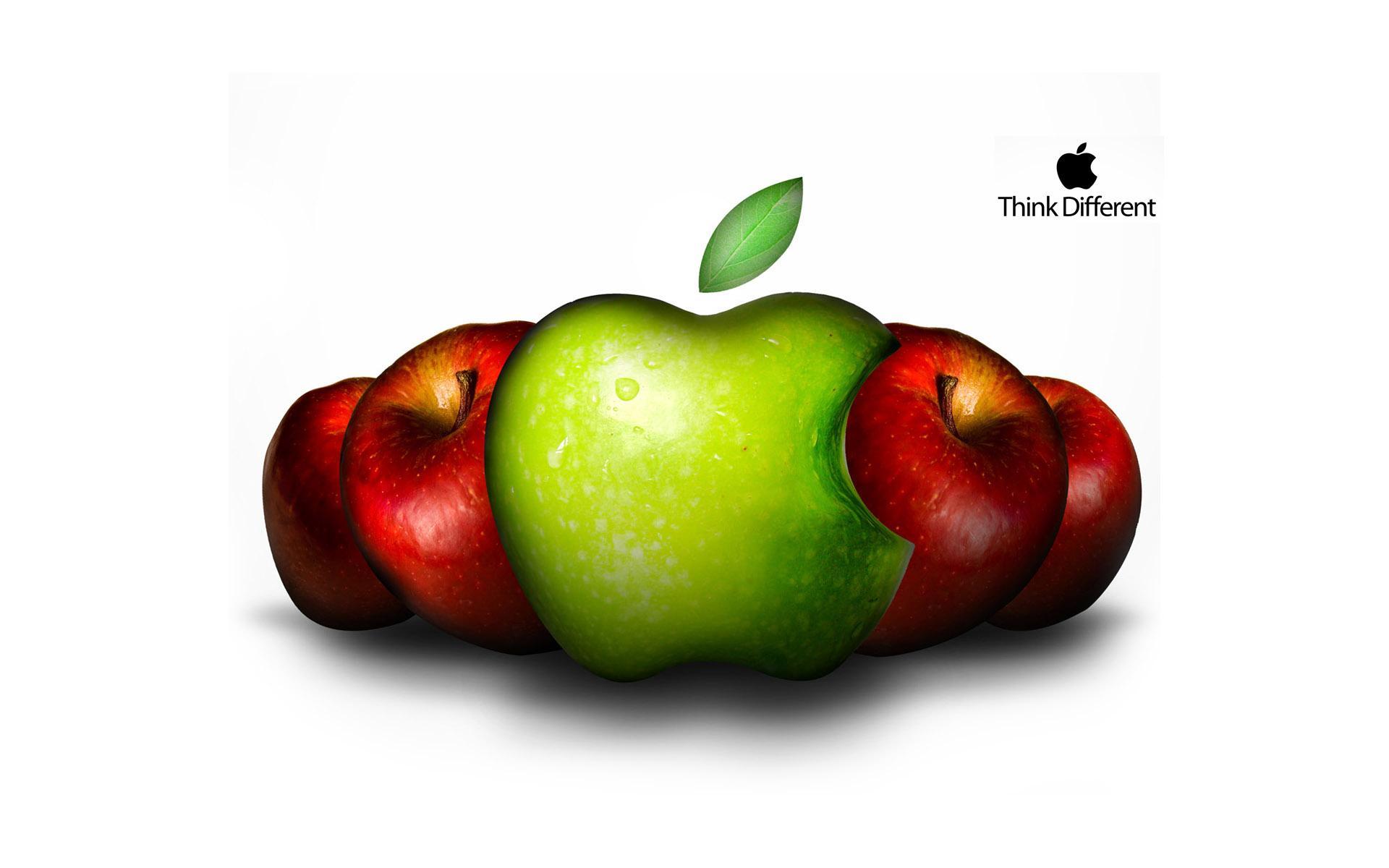 Яблоки, фото, обои для рабочего стола