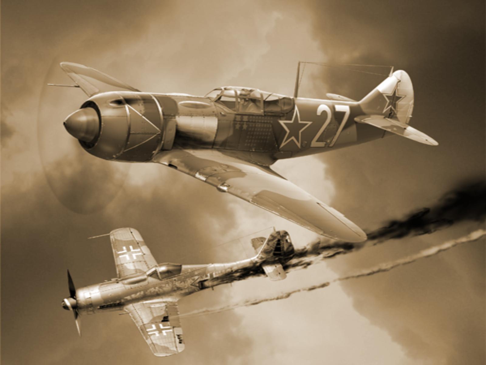 Самолет, винтовой, вторая мировая, обои