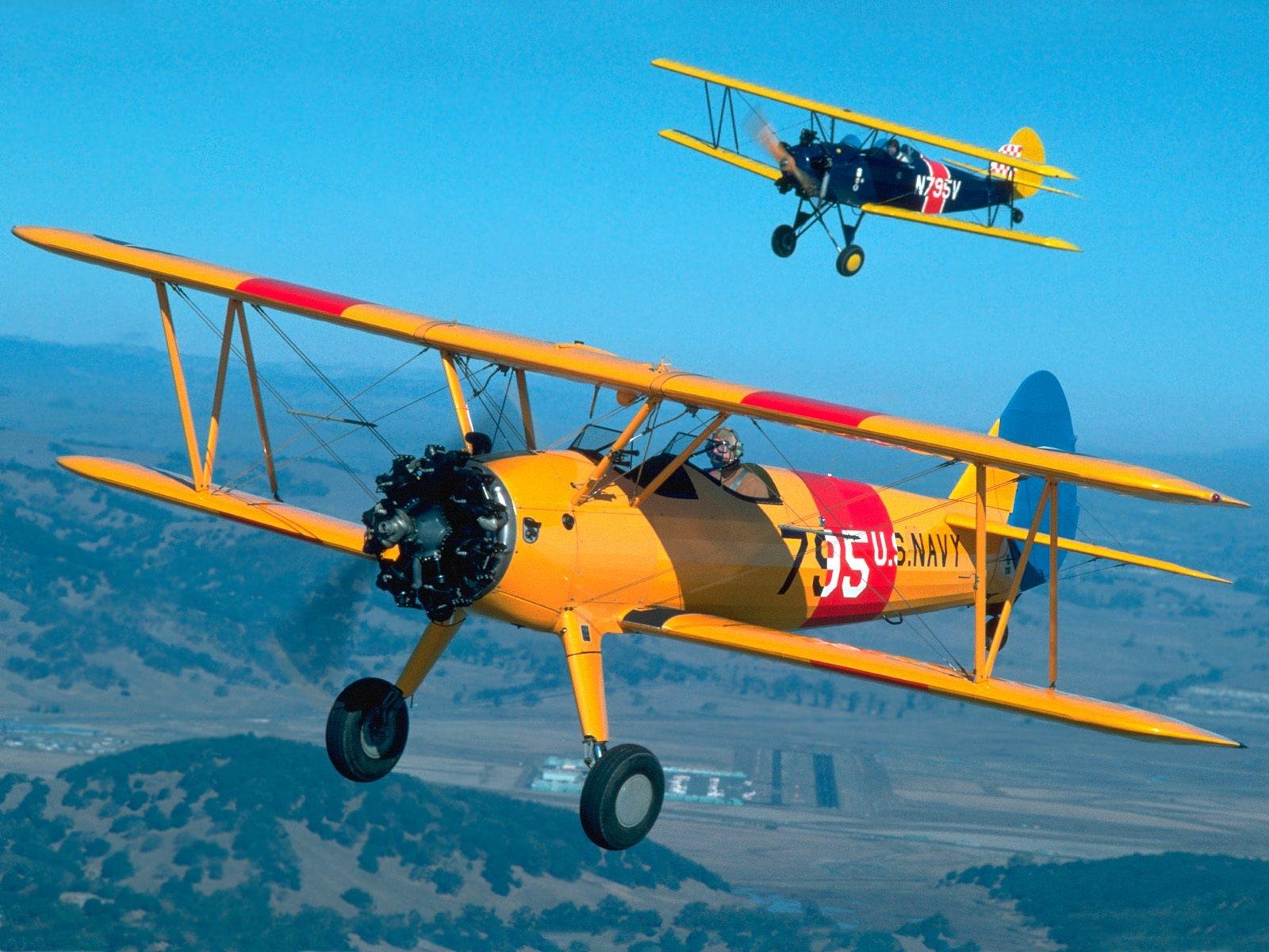 легкий самолет, фото, обои на рабочий стол