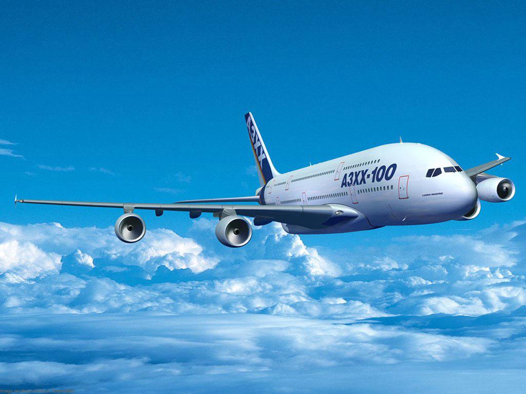 Самолет, обои, небо, облака