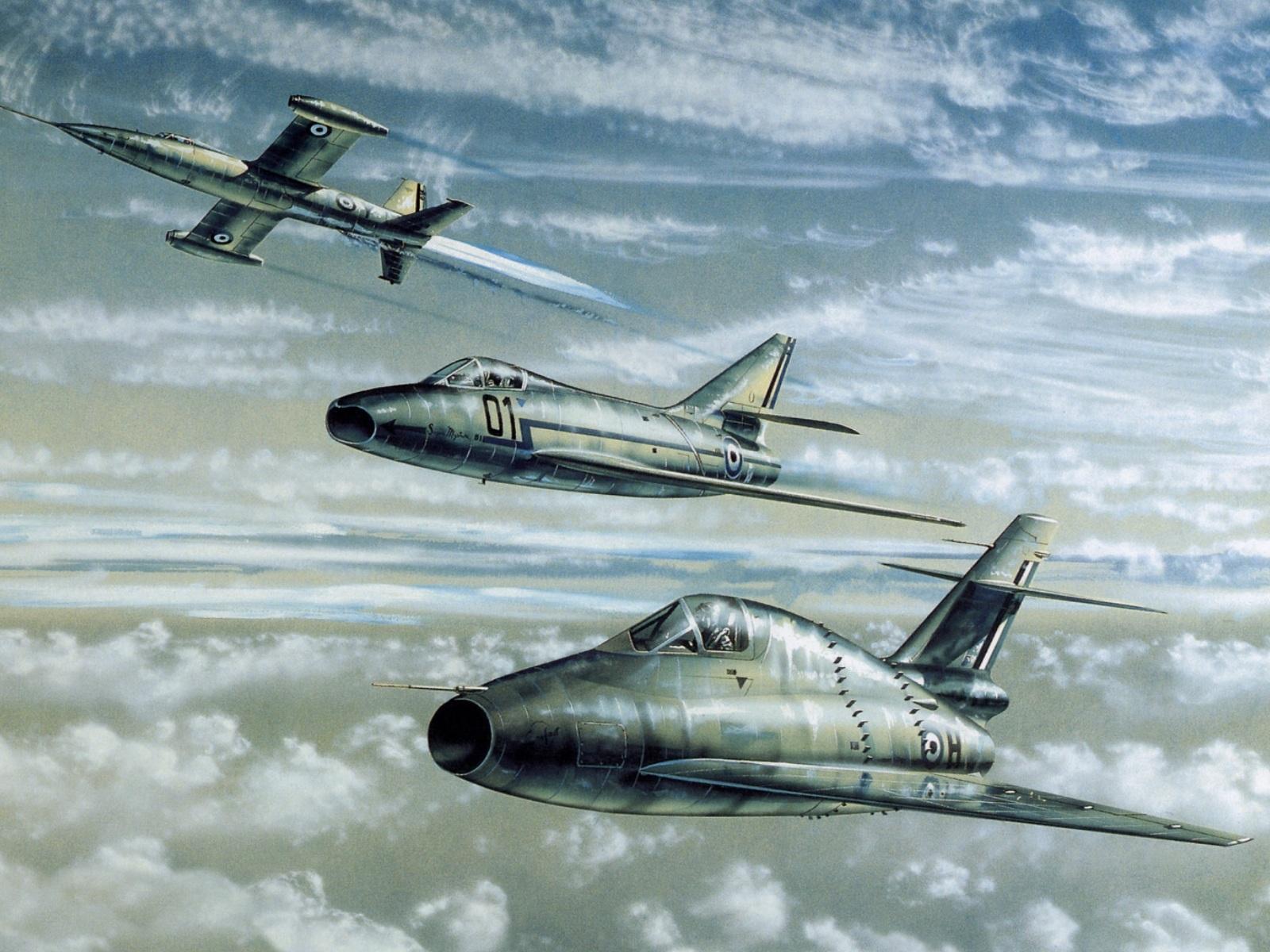 реактивные самолеты, обои