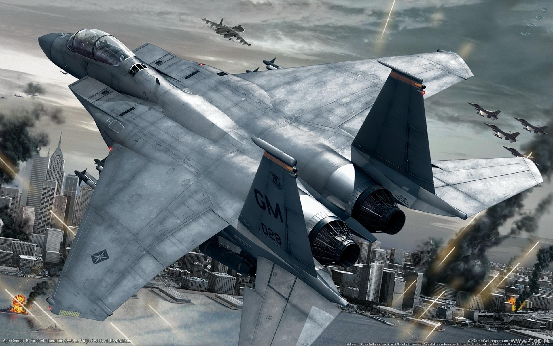 Истребитель, самолет, обои для рабочего стола