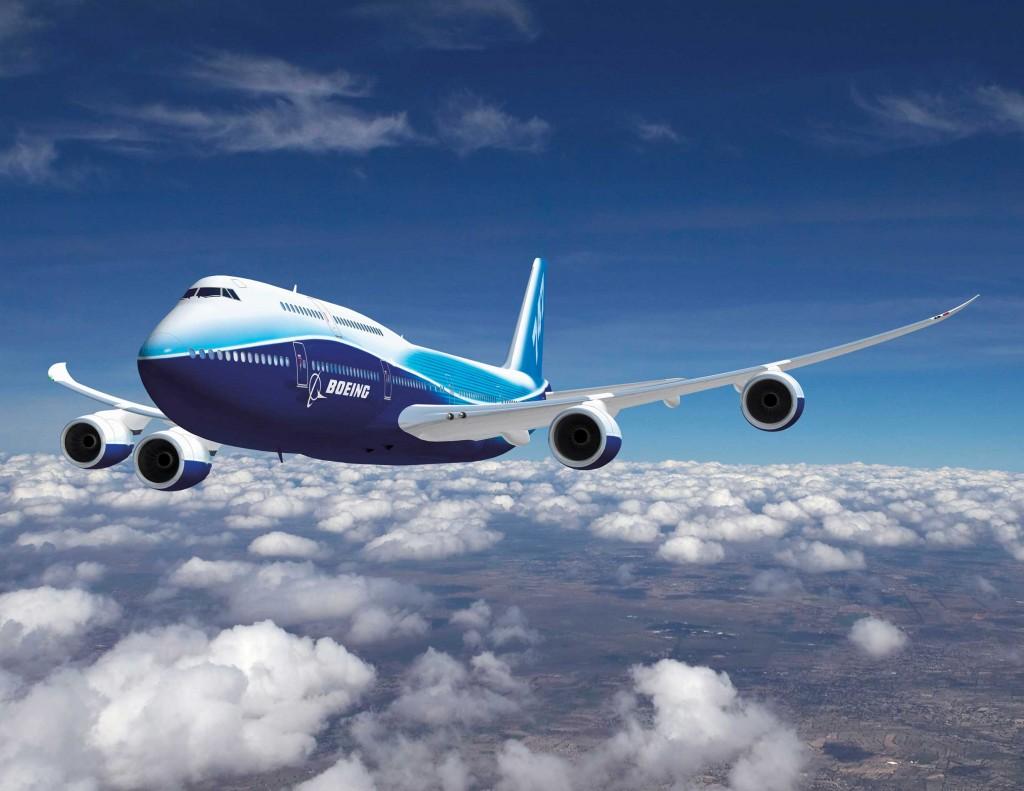 Самолет, обои в небе, боинг, на рабочий стол