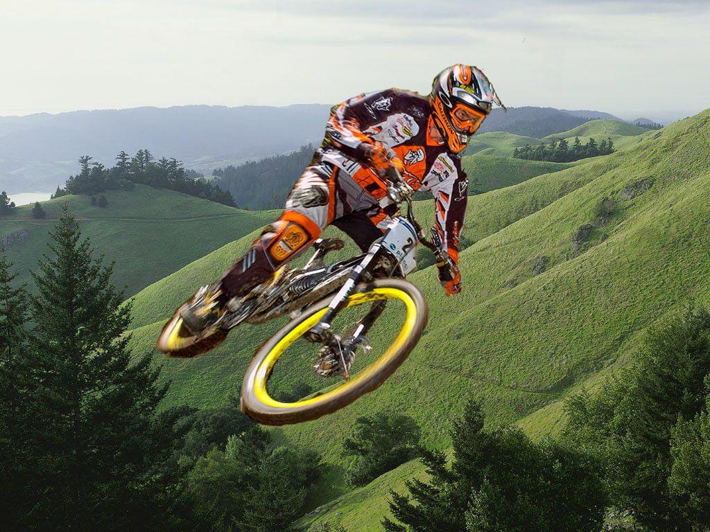 Фото, горный велосипед, шоры