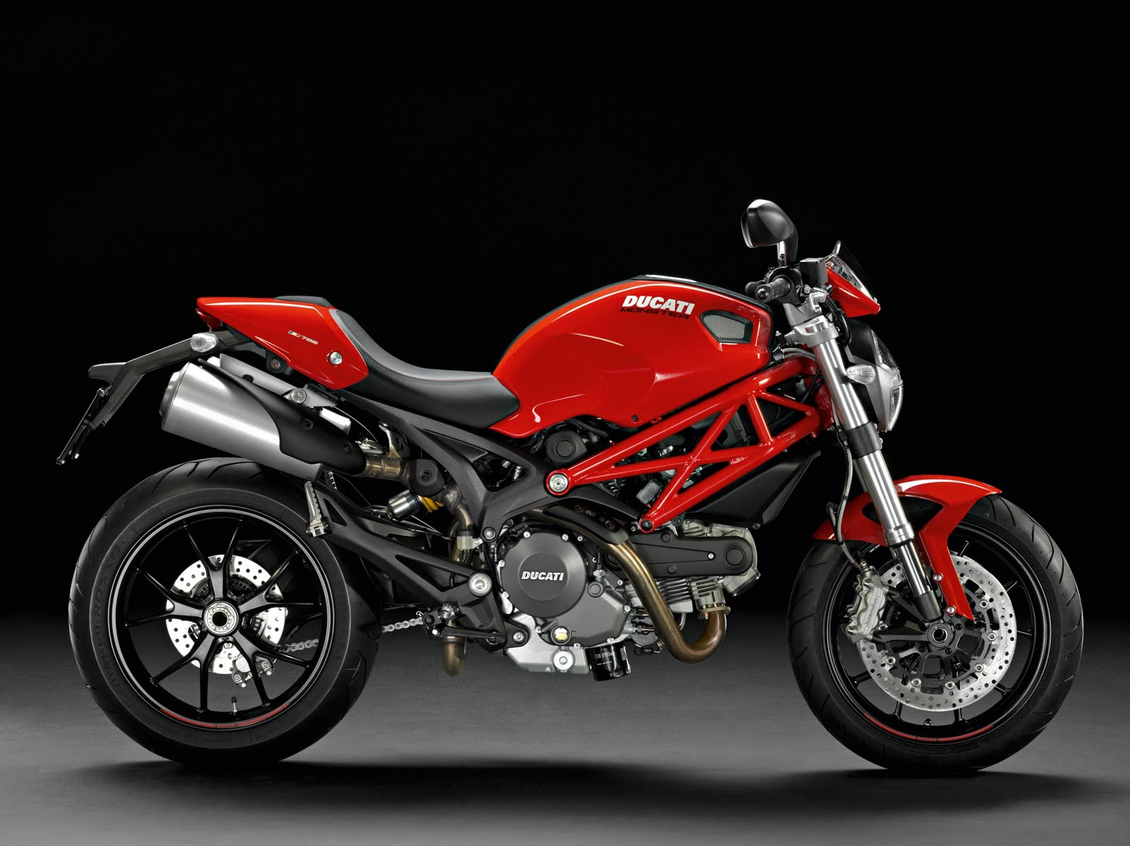 фото, красный байк, мотоцикл, обои