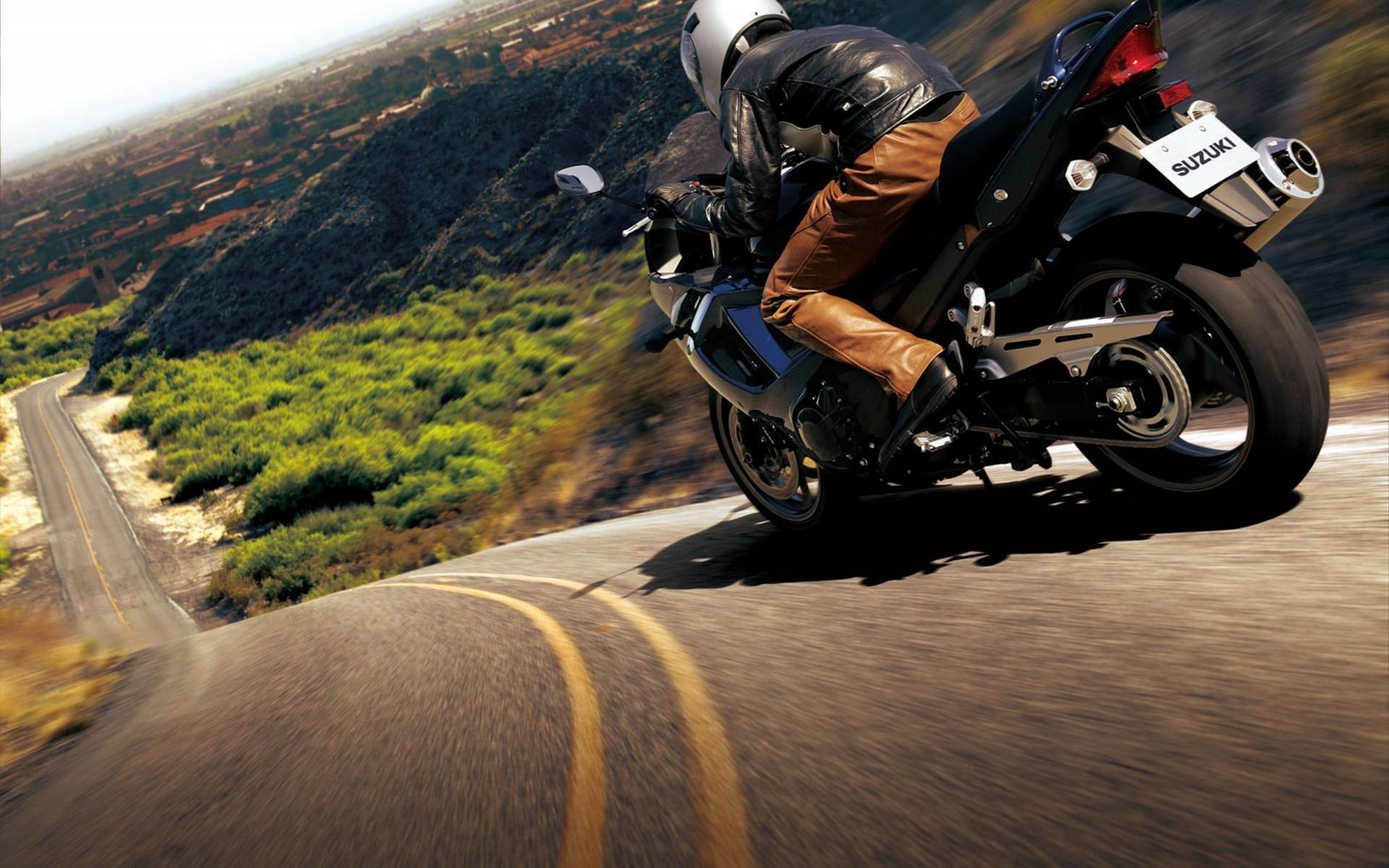 Мотоцикл, байк, обои на рабочий стол, дорог