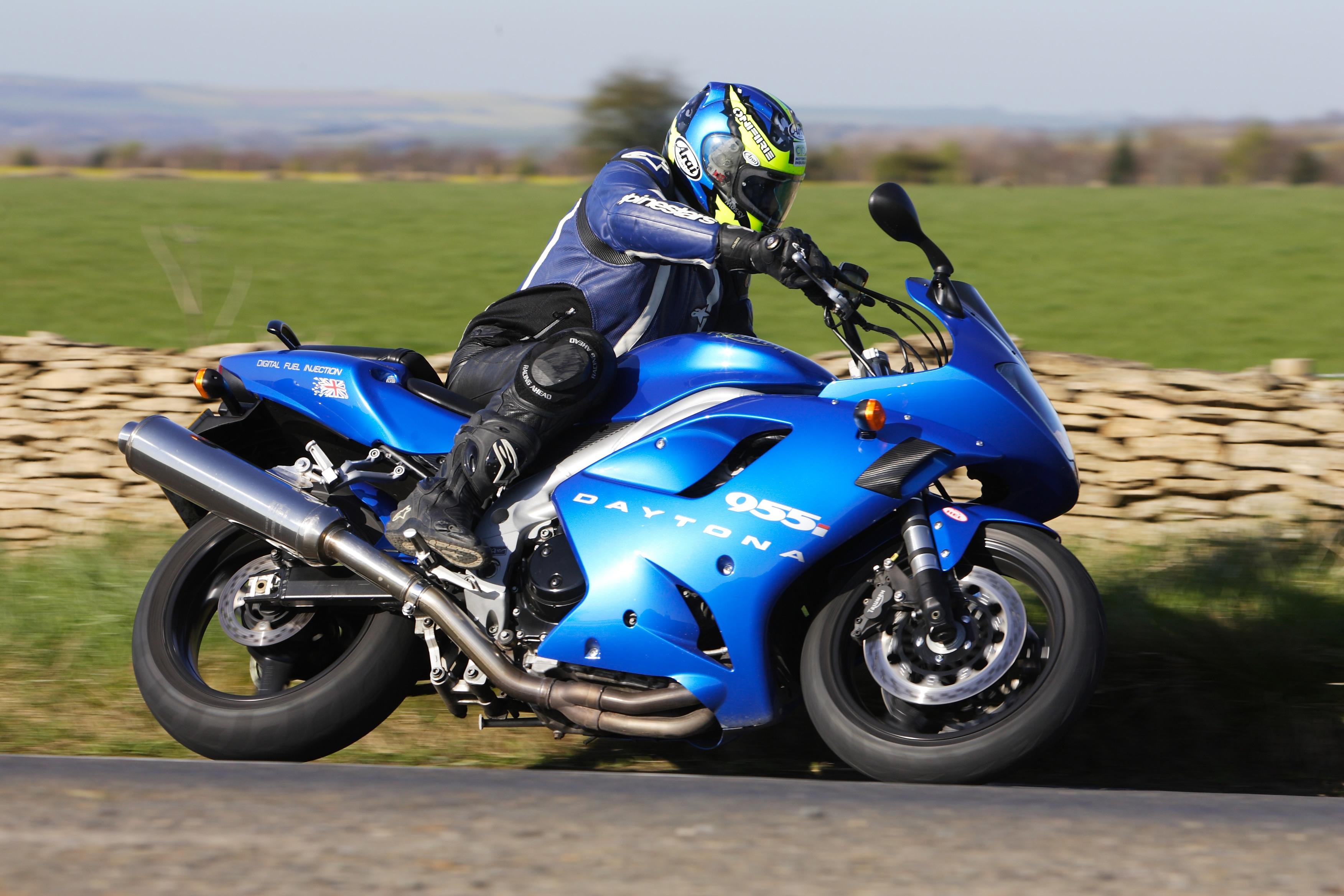 Байк, синий, мотоцикл, фото обои