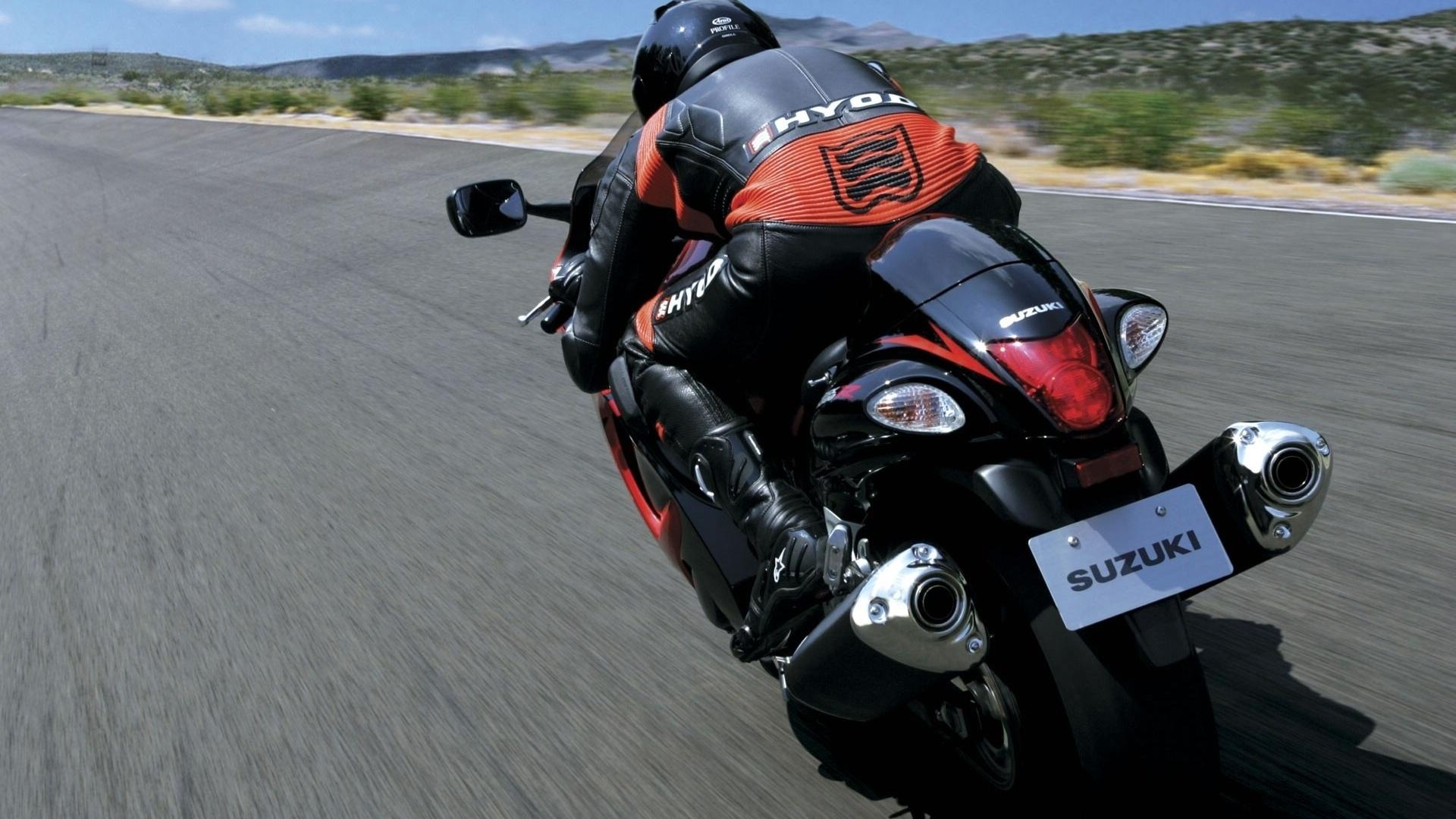 Мотобайк, мотоцикл, скорость, трасса, обои