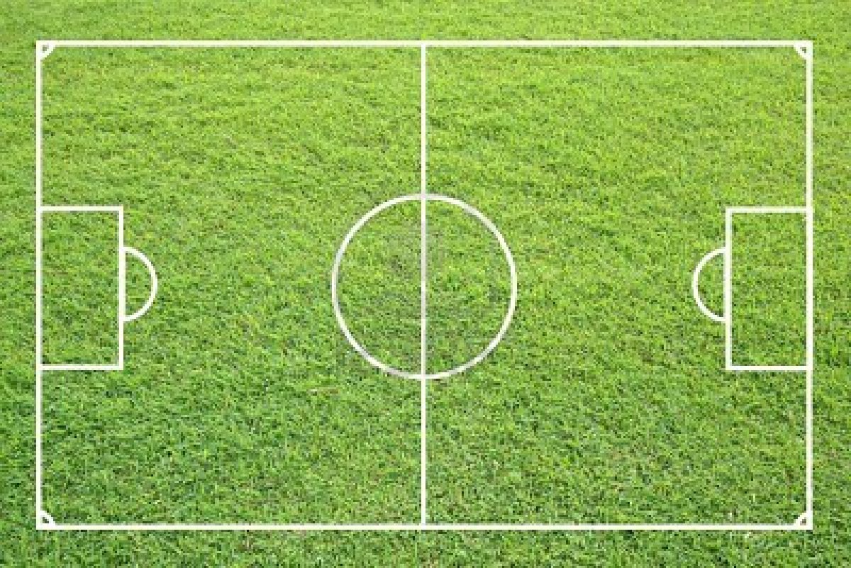 футбольное поле, футбол, обои на рабочий стол, заленая трава, газон