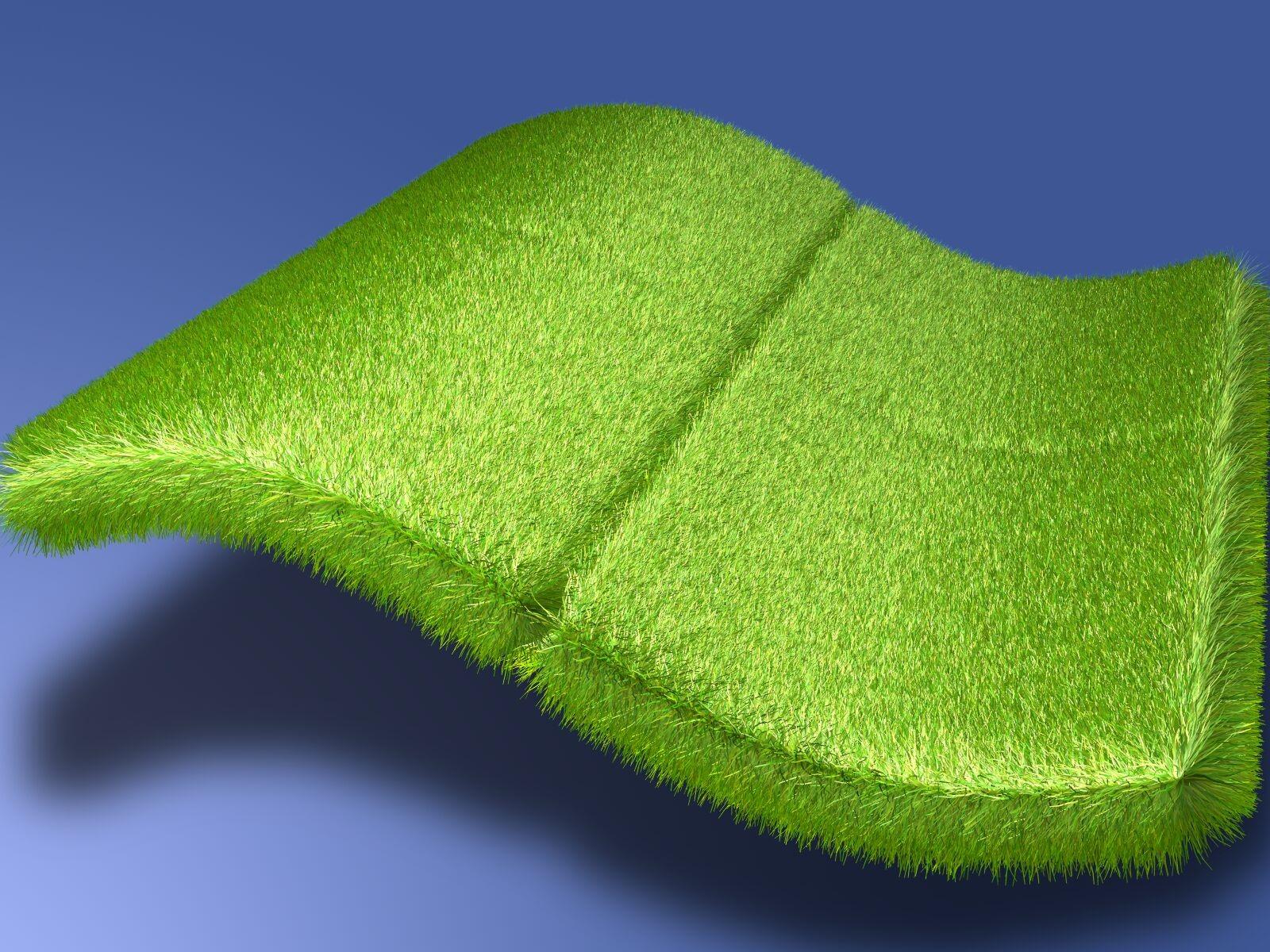 Обо для рабочего стола, windows, зеленая трава