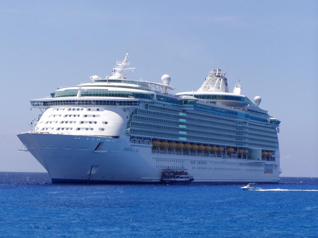 Большой корабль, фото, обои для рабочего стола