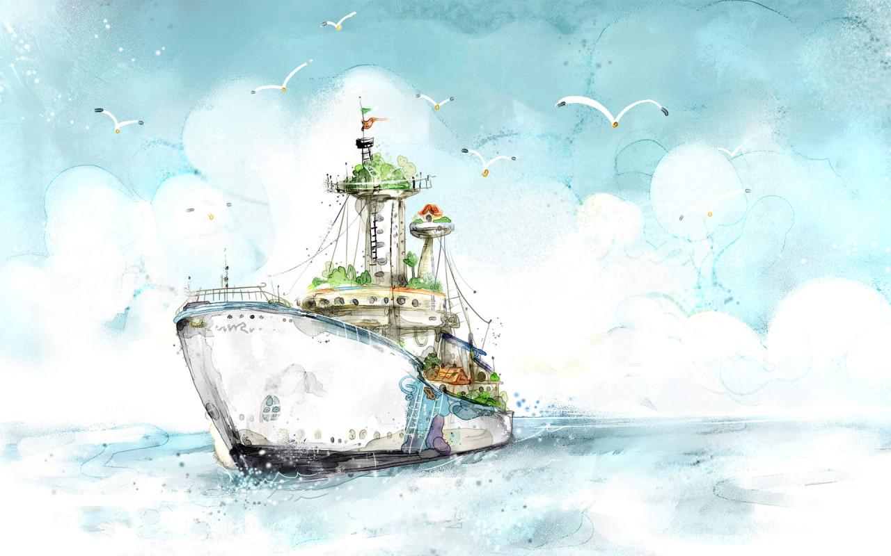 обои фото, корабли, корабль