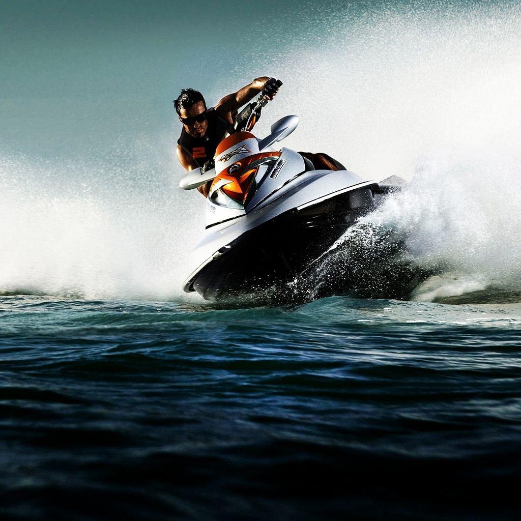 водный скутер, обои, фото кораблей