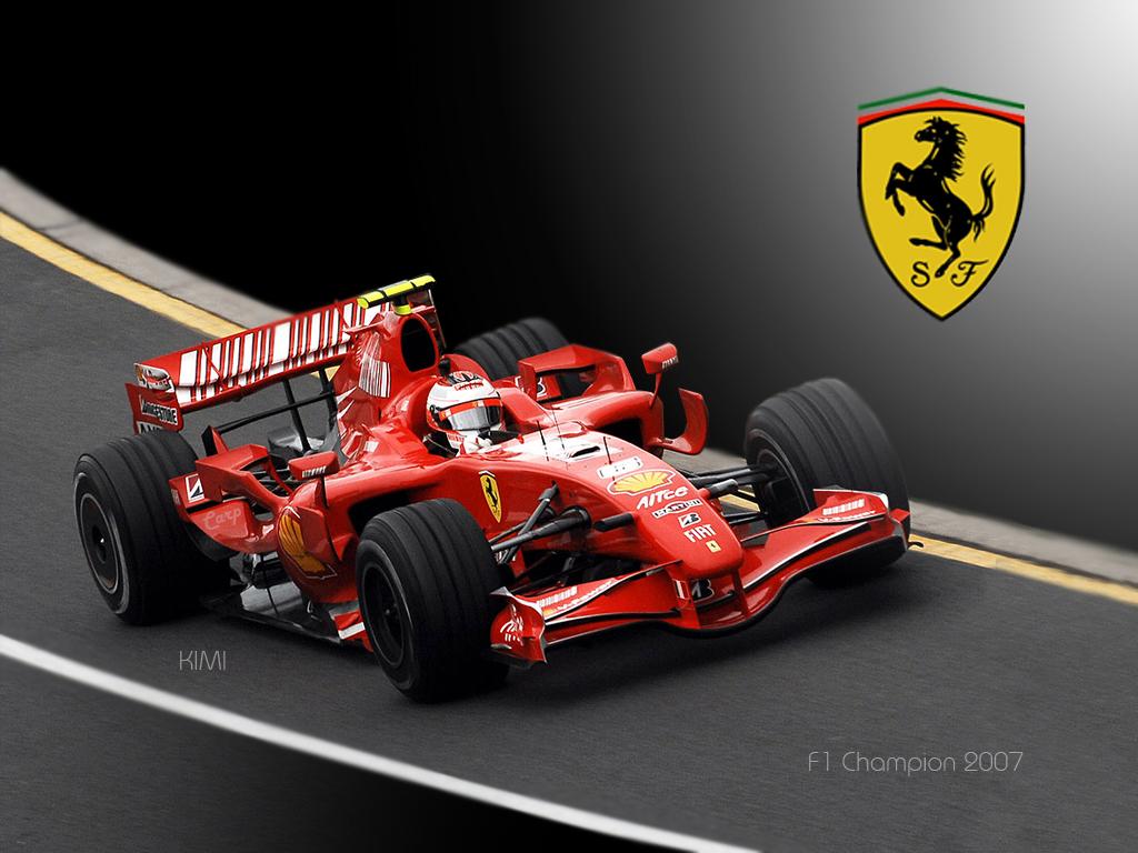 Феррари, формула один, гонка, машина, обои на рабочий стол