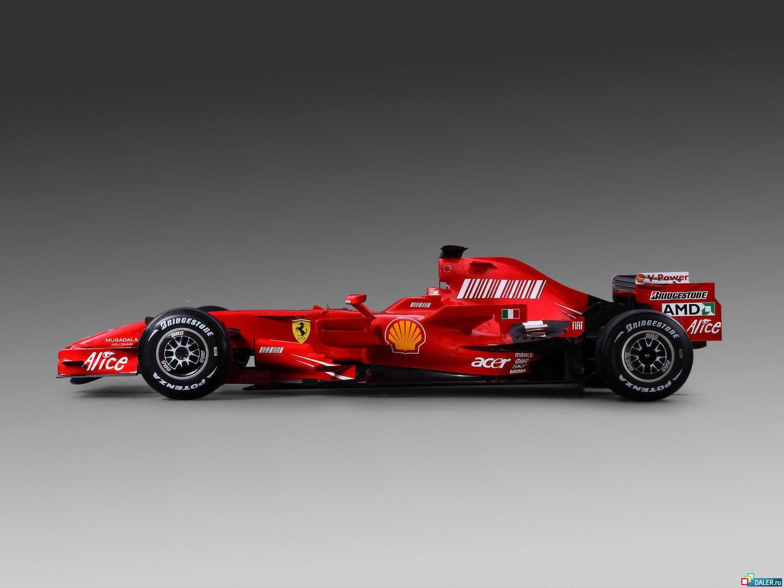 Красная формалу один, авто, гоночный автомобиль, машина, скачать обои на рабочий стол