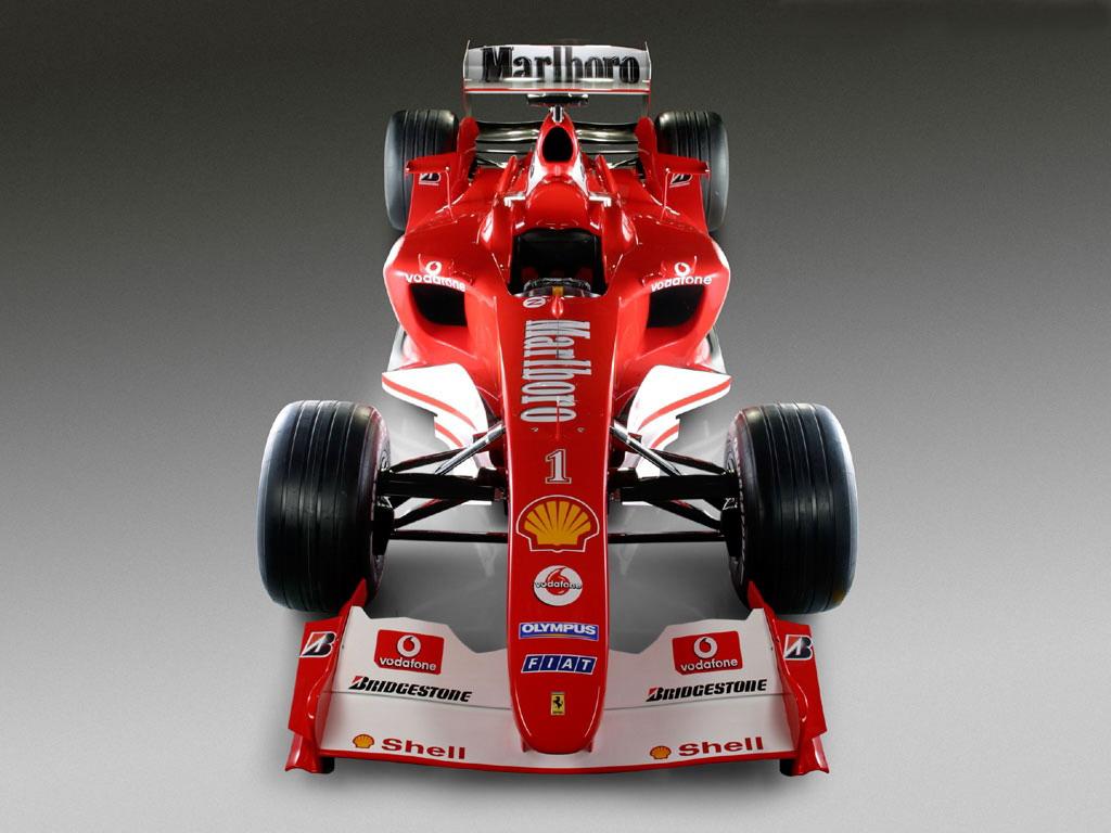 Формула один, гонка, машина, красная, обои на рабочий стол
