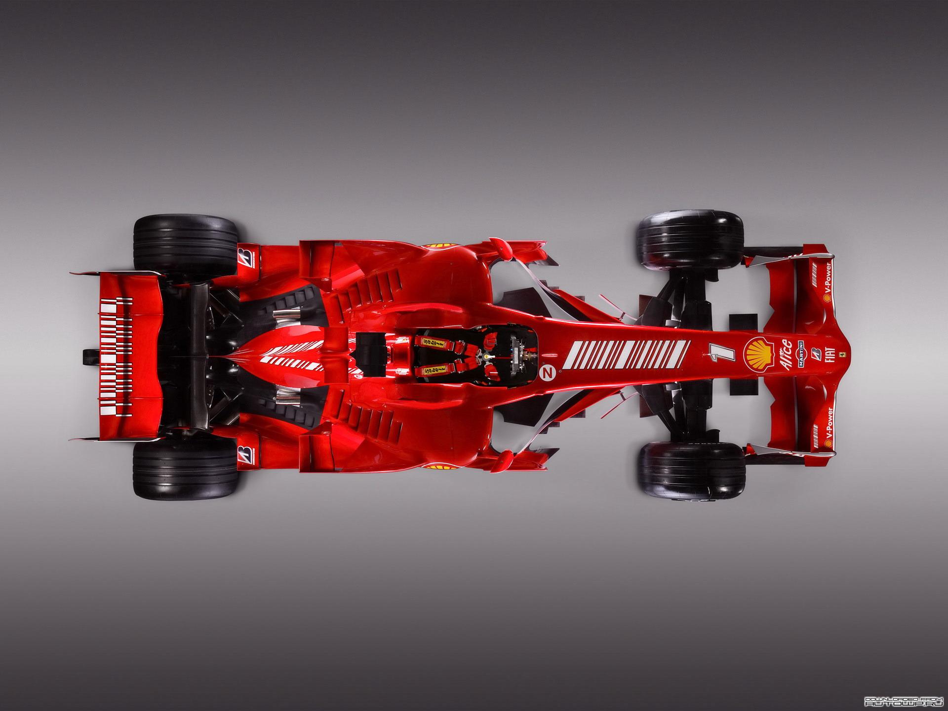 Красный болид, машина, формула 1, обои на рабочий стол, фото