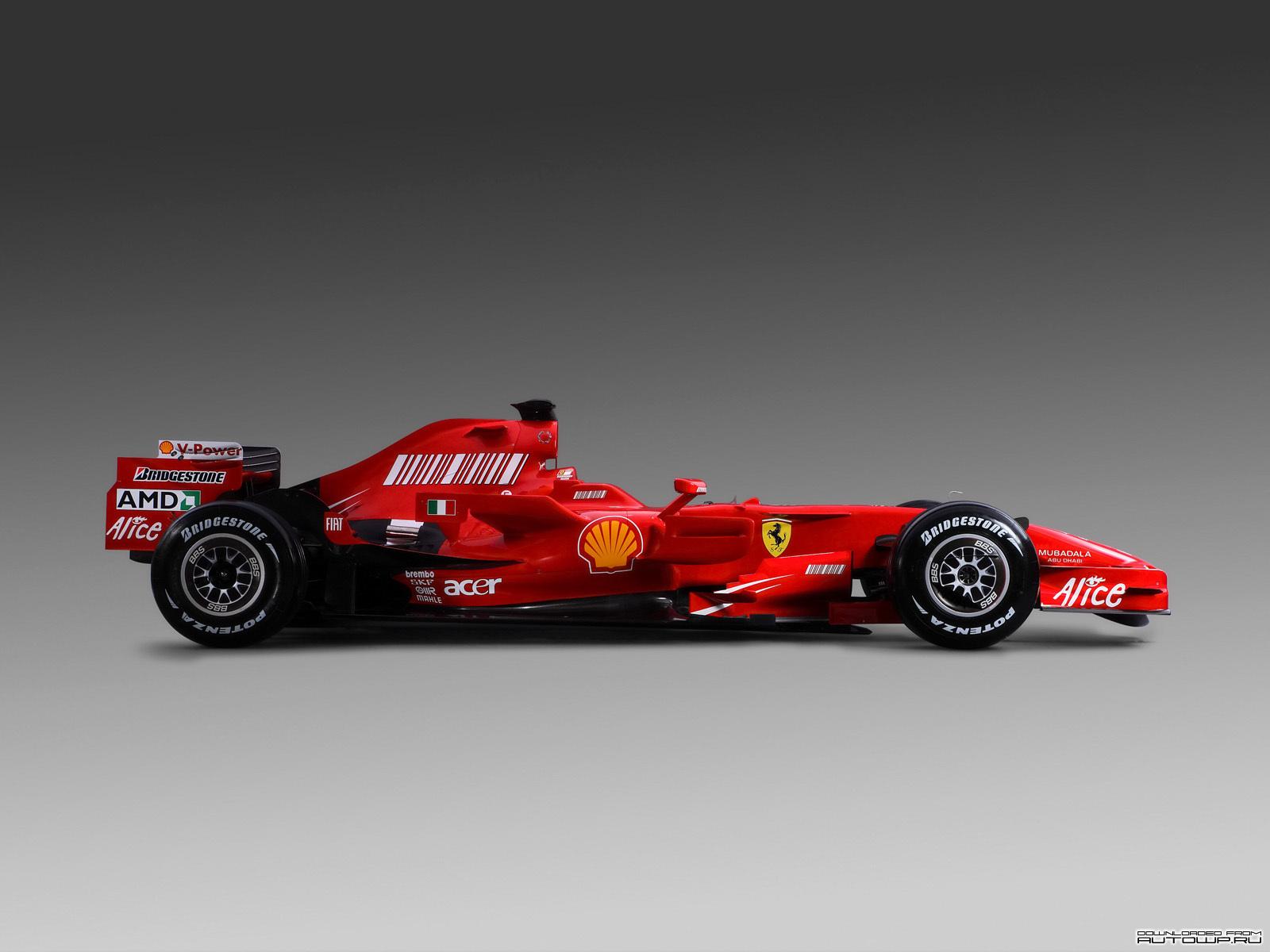 Болид, красная машина, фото, обои на рабочий стол