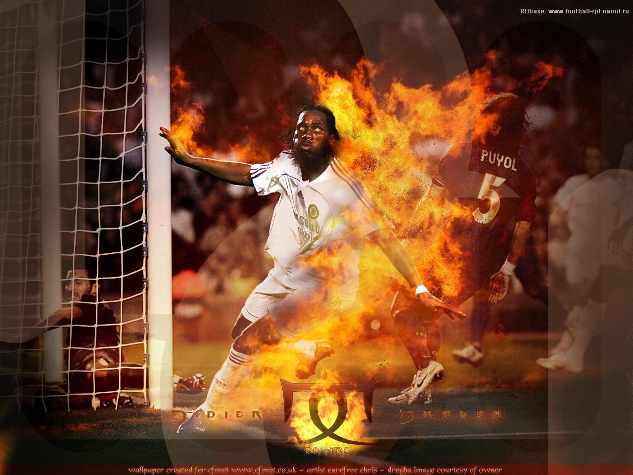 огонь, фото, обои для рабочего стола, футбол