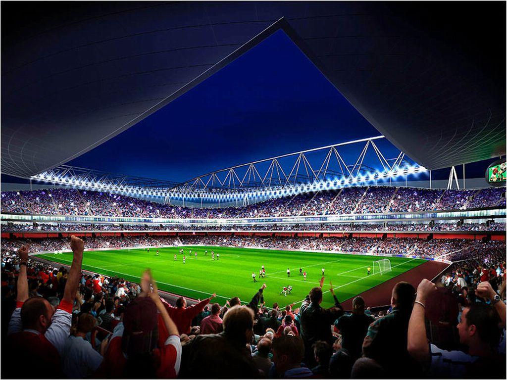 стадион, футбол, обои для рабочего стола, фото