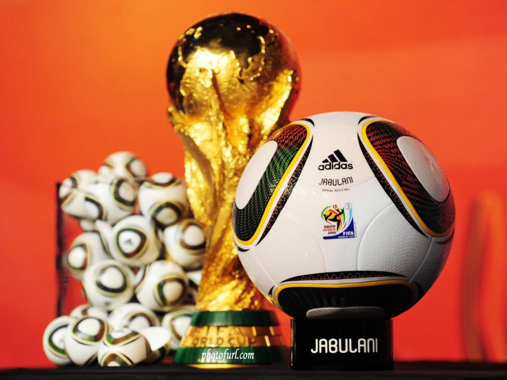 Кубок и мяч, футбол, фото, обои для рабочего стола