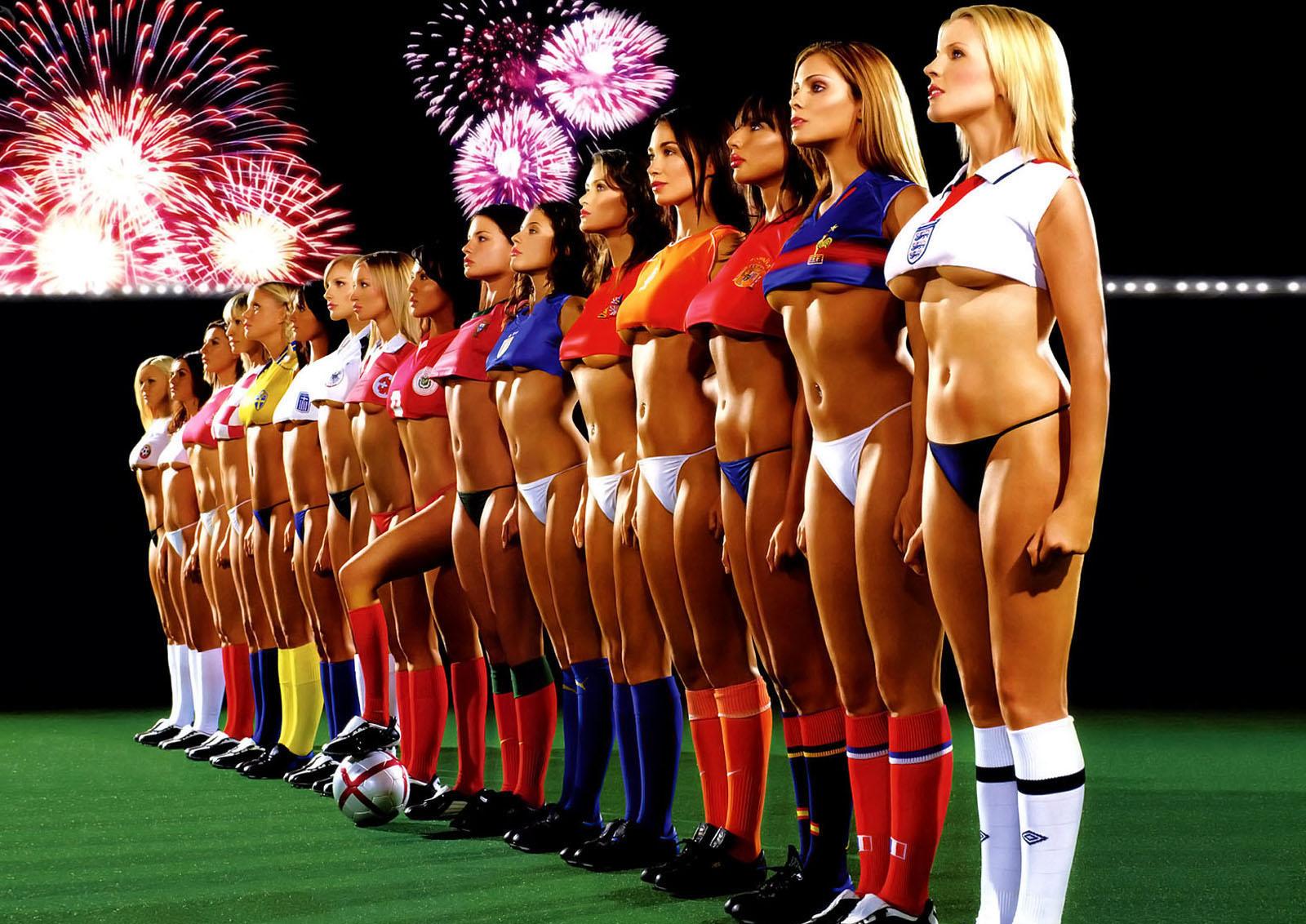 Девушки и футбол, футболистки, фото, обои на рабочий стол