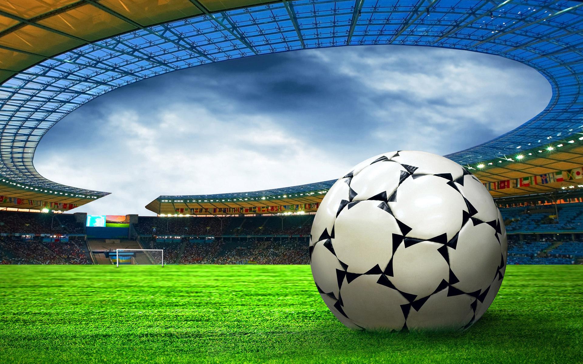 мяч, футбольный, футбол, фото, обои для рабочего стола