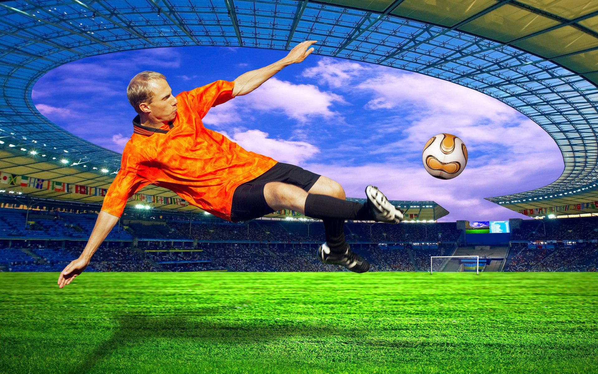 футбол, футболист, фото, обои