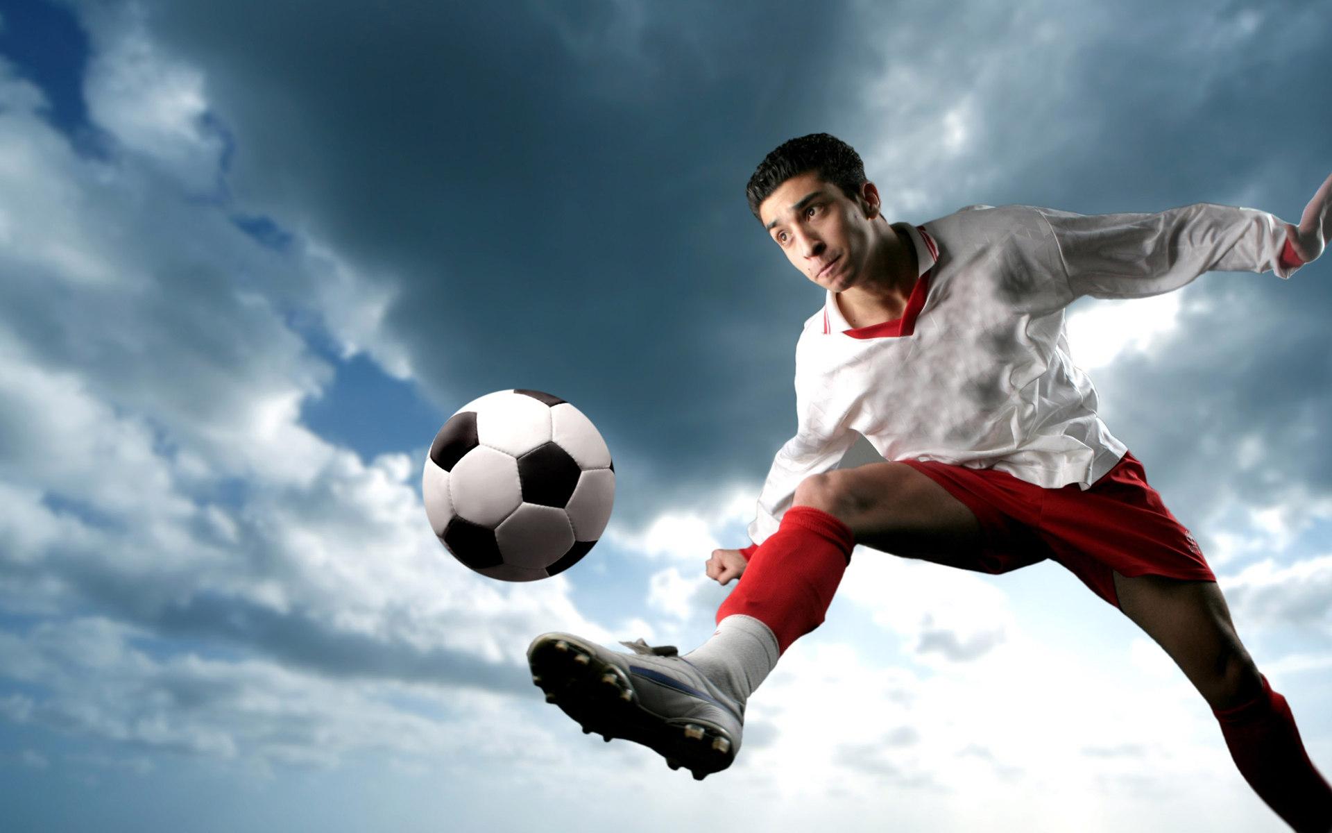 футбол, обои на рабочий стол, мяч