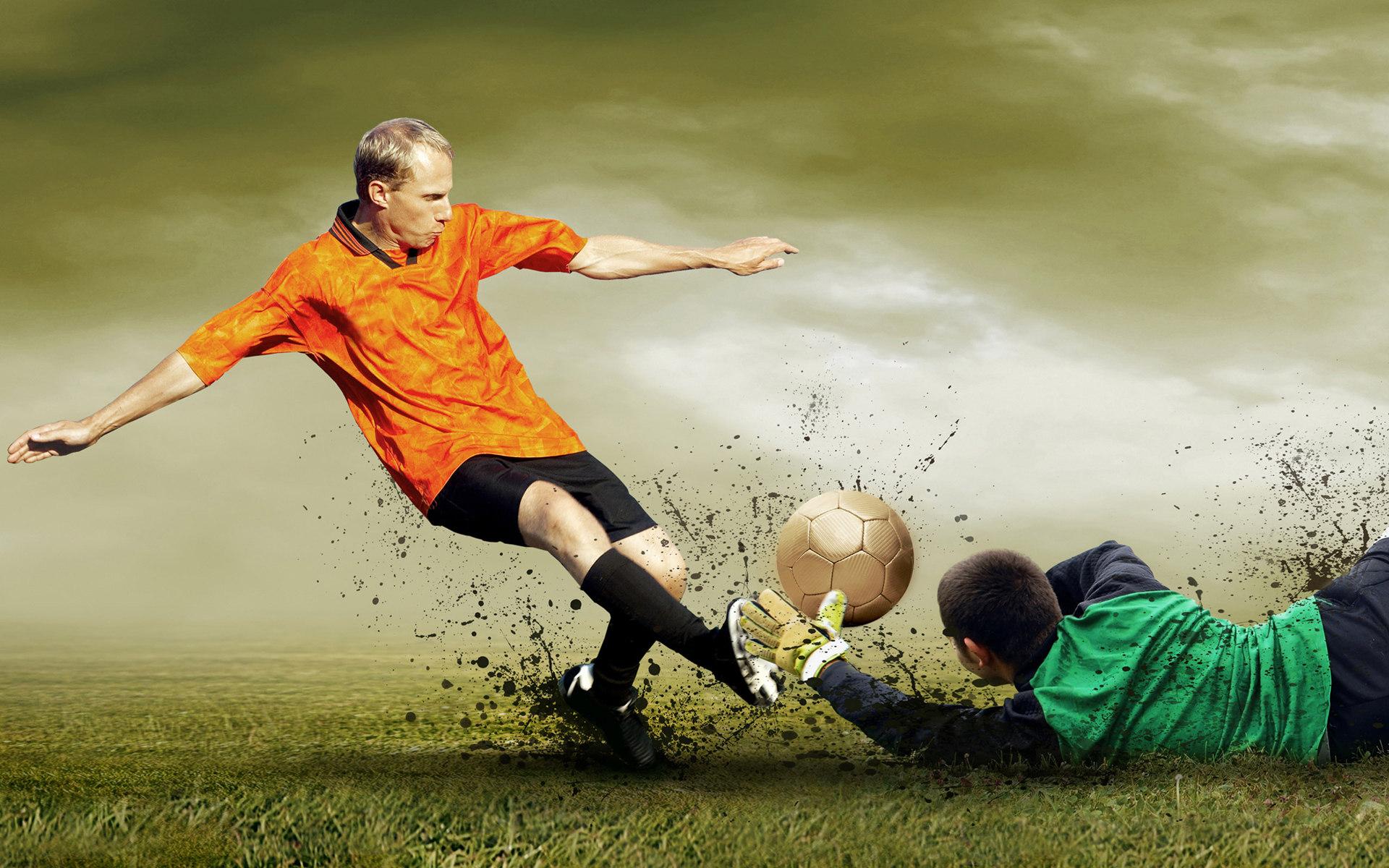 вратарь, футбол, фото, обои на рабочий стол