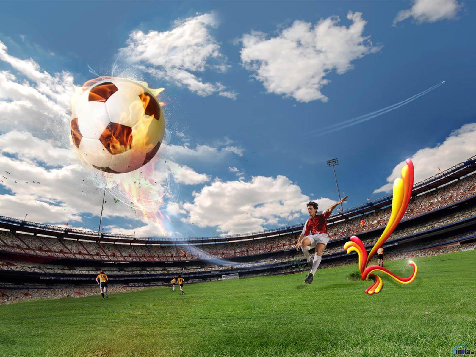 футбол, мяч, фото, обои для рабочего стола