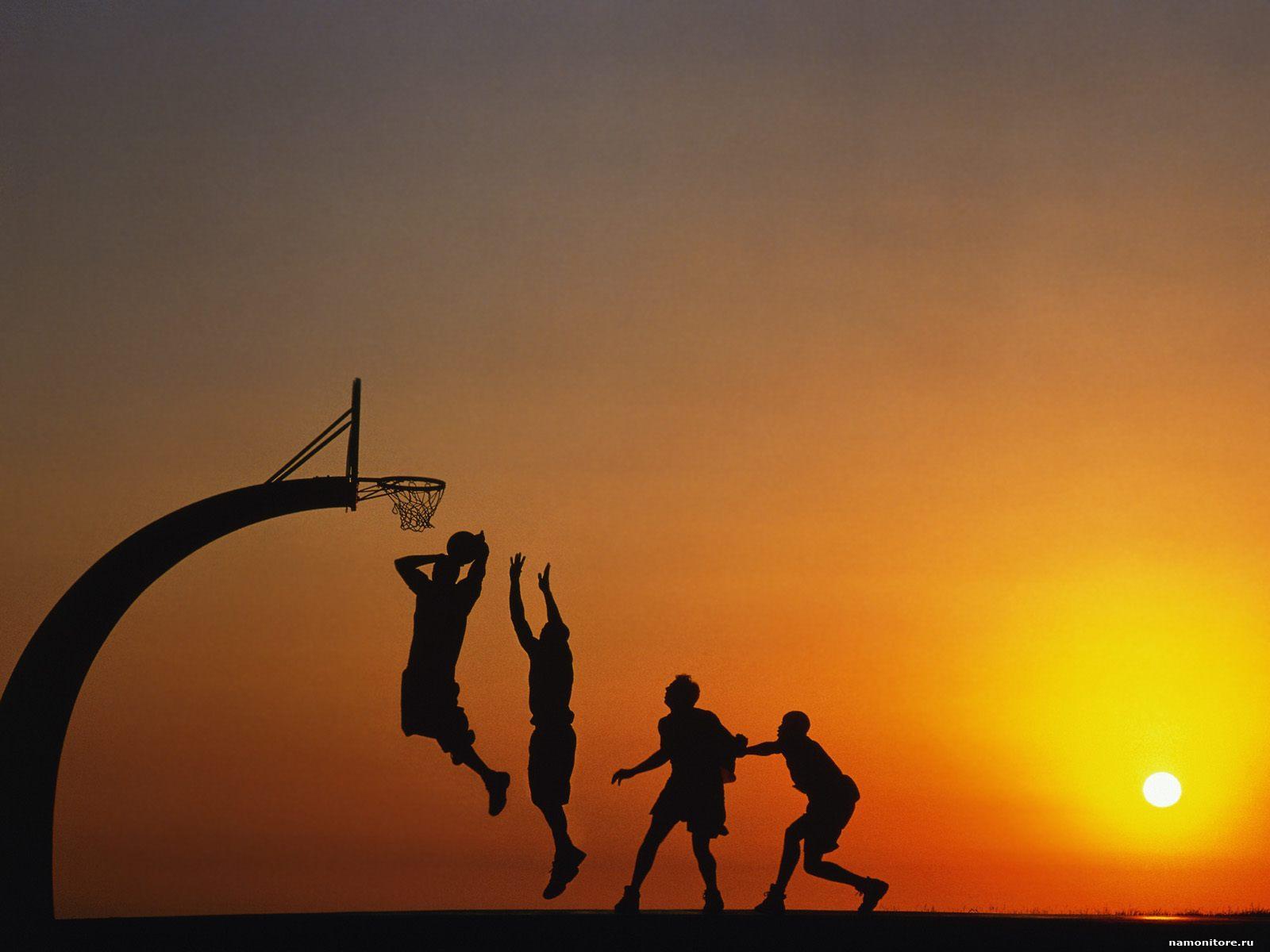 Баскетбол, обои на рабочий стол, фото, скачать бесплатно