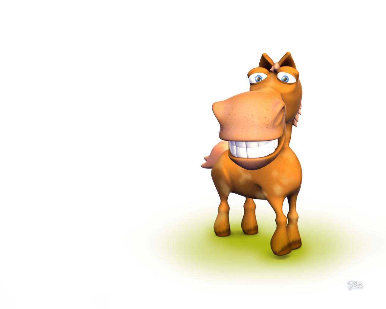 Обои на рабочий стол, лошадь, конь, фото