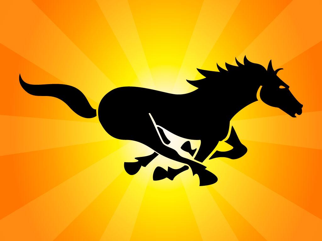 обои для рабочего стола, лошадь на скаку, фото, конь