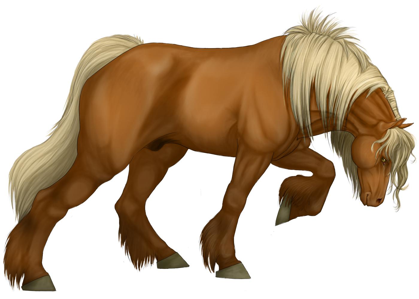 Большой конь, русская лошадь, рисунок, фото, обои, клипарт
