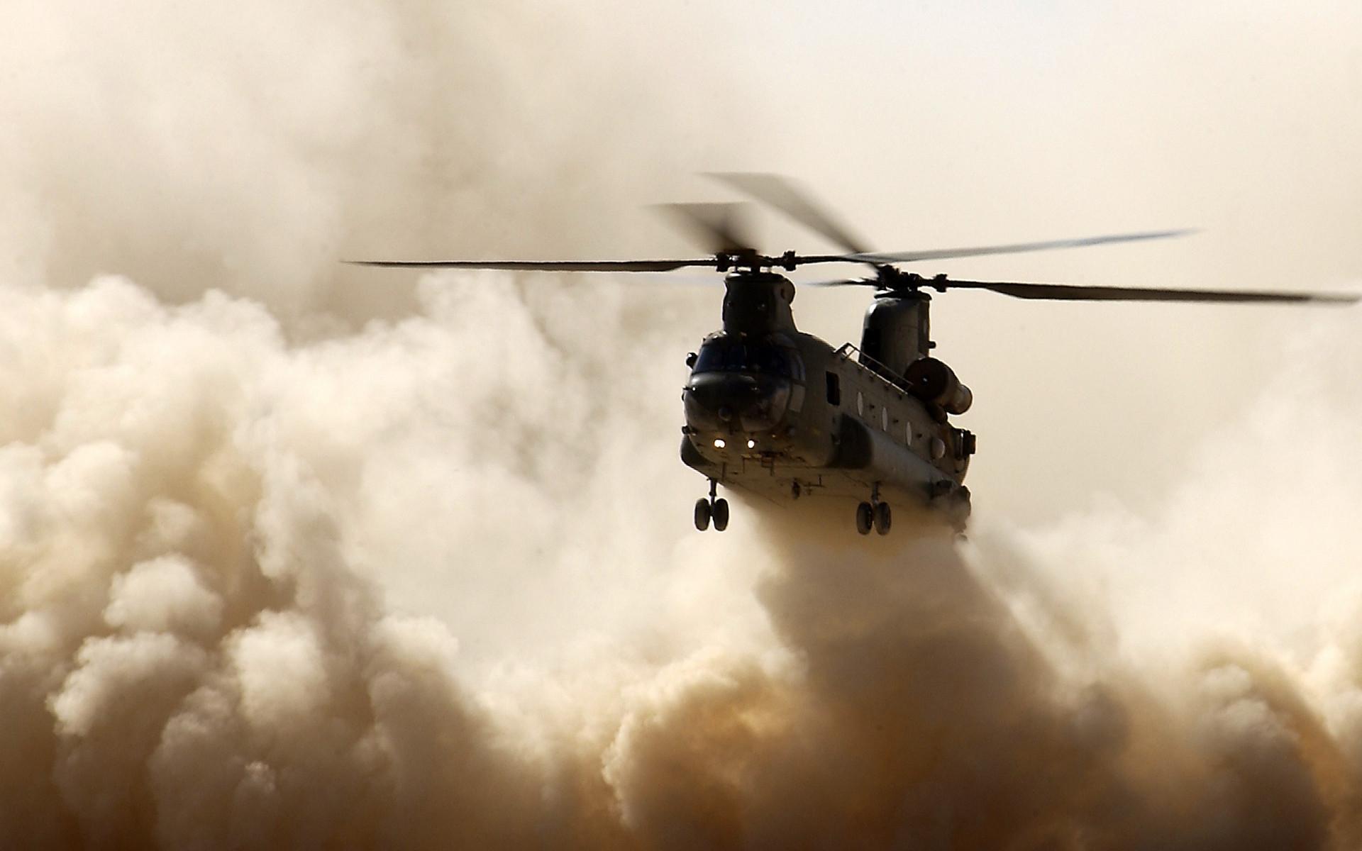 вертолет, посадка, красивое фото, обои для рабочего стола, скачать