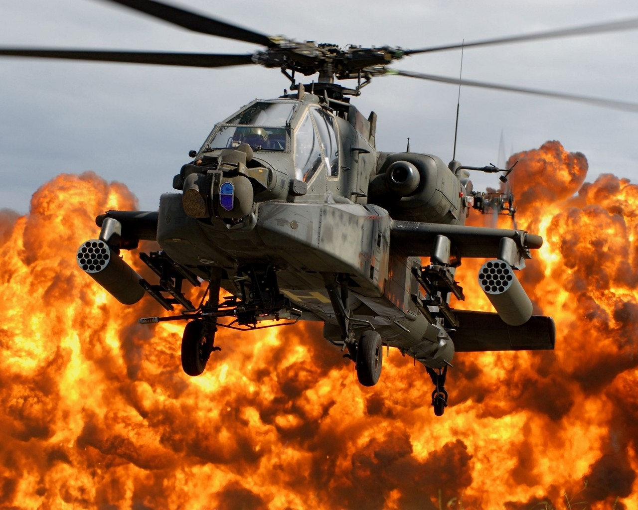 Вертолет, боевой, фото, обои