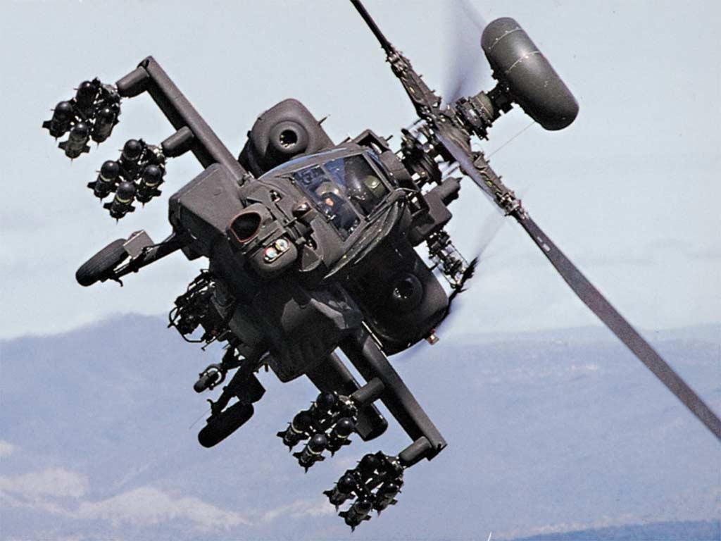 Боевой вертолет, фото, обои