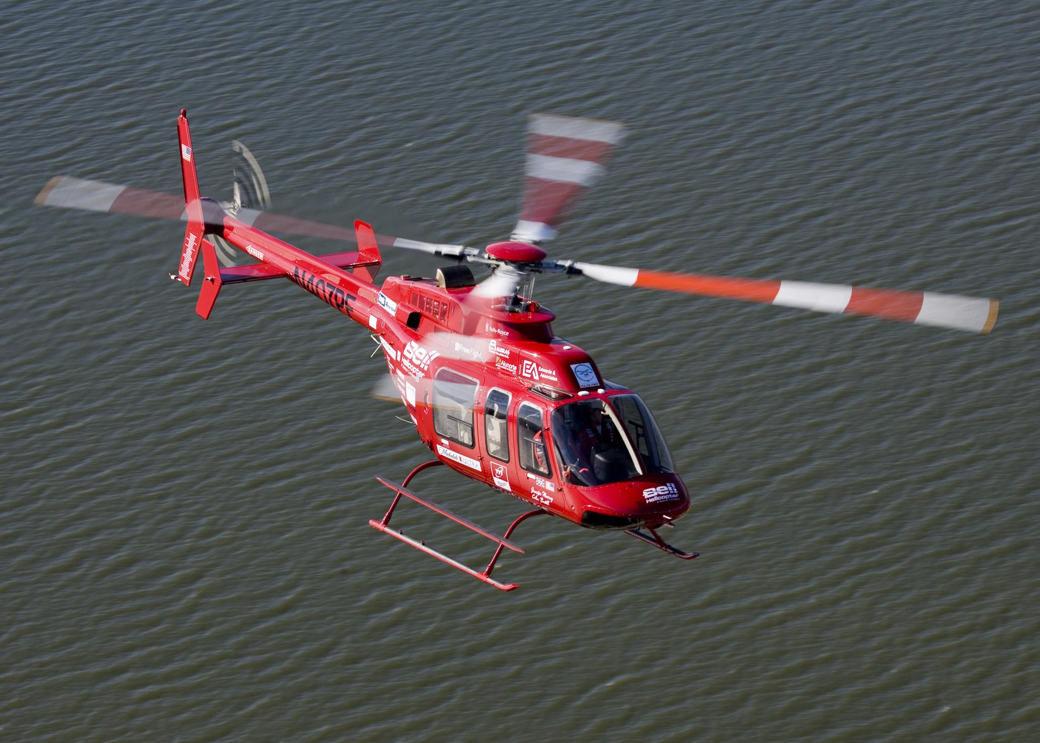 вертолет Bell, фото, обои, скачать