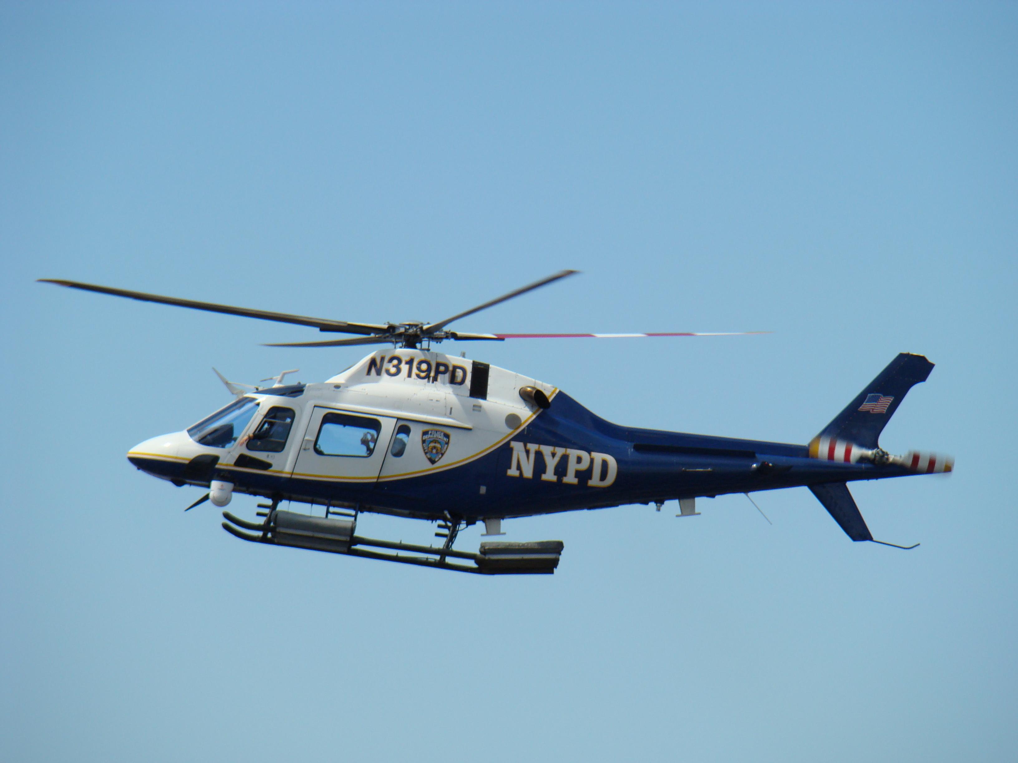 полицейский вертолет, фото, обои на рабочий стол, скачать