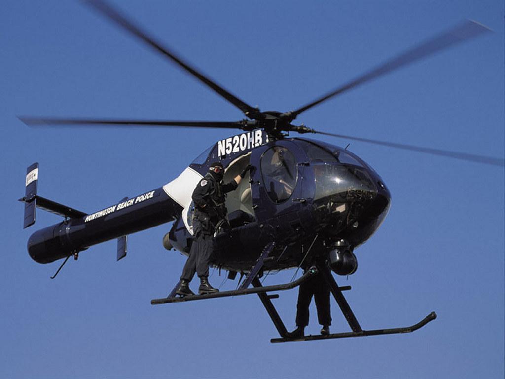 police helicopter, фото, обои для рабочего стола, скачать